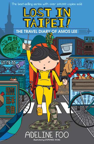Lost in Taipei!:the travel diary of Amos Lee