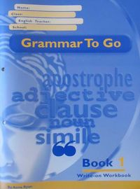Grammar to go (teacher answer book). Book 1